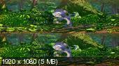 Переполох в джунглях 3Д / Jungle Shuffle 3D Вертикальная анаморфная