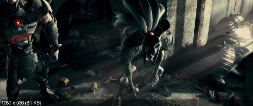 Черепашки Ниндзя / TMNT (2007) BDRip 720p | 60fps