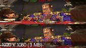 Без черных полос (На весь экран)  Книга жизни в 3Д / The Book of Life 3D  Вертикальная анаморфная