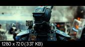 Робот по имени Чаппи / Chappie (2015) HD 720p | трейлер