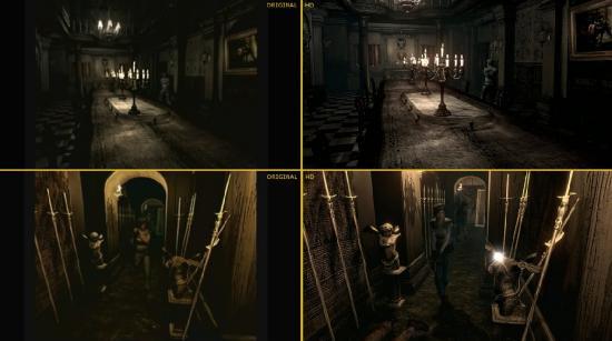 Resident Evil HD Remaster старая игра на новый лад
