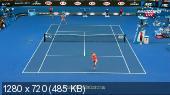 ������. Australian Open 2015. 1/2 ������. ��������� �������� - ����� �������� [29.01] (2015) HDTVRip 720p