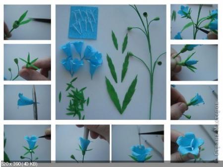 Цветы из гофрированой бумаги 3288a27b3ba74b47bd71bf9adf9e8540