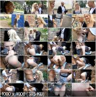 PickupFuck - Kamali - Next Door Blonde In Anal Public Fuck [HD 720p]