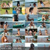 CollegeFuckParties - Julia Taylor, Eniko, Bella, Agnes - Summer Fuck Party Movie Part 1 [HD 720p]