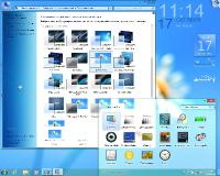 Windows 7 Ultimate Ru x86/x64 nBook IE11 by OVGorskiy® 10.2014 2 DVD