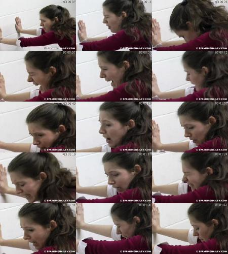 Schoolgirl Yardstick Spanking